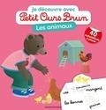 Laura Bour et Danièle Bour - Je découvre les animaux avec Petit Ours Brun.