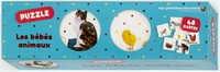 Laura Bour et Ute Fuhr - Puzzle les bébés animaux - Avec 48 cartes.