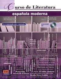 Deedr.fr Curso de Literatura española moderna Image
