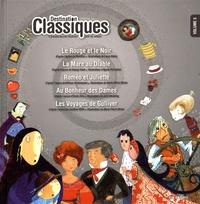 Laura Guéry et Agnès Perruchon - Destination classiques - Volume 5, Le Rouge et le Noir ; La Mare au Diable ; Roméo et Juliette ; Au Bonheur des Dames ; Les Voyages de Gulliver.