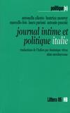 Laura Pariani et Antonella Cilento - Journal intime et politique Italie.