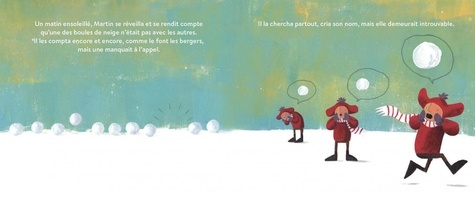 Le berger des boules de neige