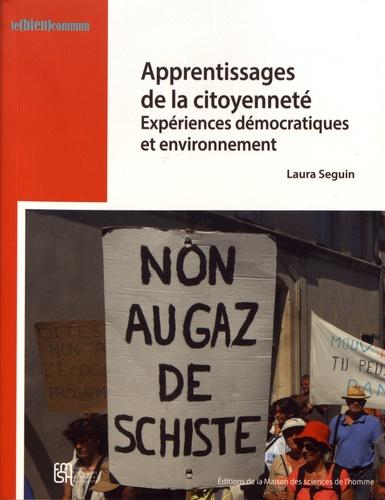 Apprentissages de la citoyenneté. Expériences démocratiques et environnement