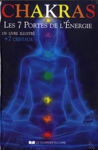 Laura Tuan - Chakras - Les 7 portes de l'énergie. Contient : 1 livre illustré et 7 cristaux.