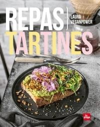 Laura Veganpower - Repas tartines.