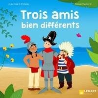 Laure Allard-d'Adesky et Manon Paumard - Trois amis bien différents.