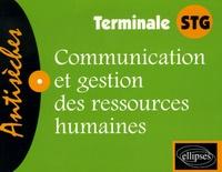 Laure Bataille - Communication et gestion des ressources humaines Te STG.