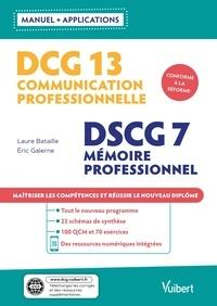 Laure Bataille et Eric Galerne - DCG 13 Communication professionnelle - DSCG 7 Mémoire professionnel.