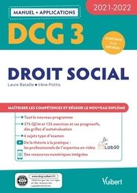 Laure Bataille et Irène Politis - DCG 3 Droit social.