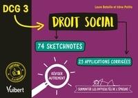 Ucareoutplacement.be DCG 3 Droit social - 74 sketchnotes et 20 applications corrigées pour réviser autrement et surmonter les difficultés de l'épreuve Image