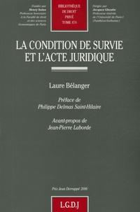 La condition de survie et lacte juridique.pdf