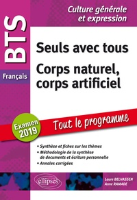 Histoiresdenlire.be BTS Français - Seuls avec tous ; Corps naturel corps artificiel - Epreuve de culture générale et expression Image