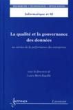 Laure Berti-Equille - La qualité et la gouvernance des données - Au service de la performance des entreprises.