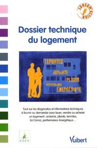 Laure Bourgoin et Alain Chosson - Dossier technique du logement.