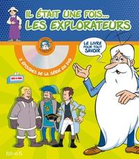 Il était une fois... les explorateurs- Avec 2 épisodes de la série en DVD : Les premiers explorateurs ; Magellan - Laure Boyer  