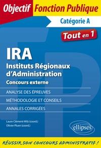 Laure Clément-Wilz et Olivier Pluen - IRA, Instituts Régionaux d'Administration - Concours externe.