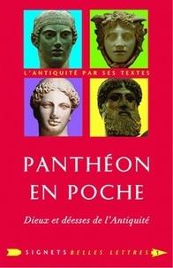 Laure de Chantal - Panthéon en poche - Dieux et déesses de l'Antiquité.