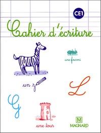 Laure Dumesnil et Bernard Montayral - Cahier d'écriture CE1 - Pack de 5 volumes.