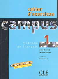 Campus 1- Cahier d'exercices - Laure Duranton | Showmesound.org
