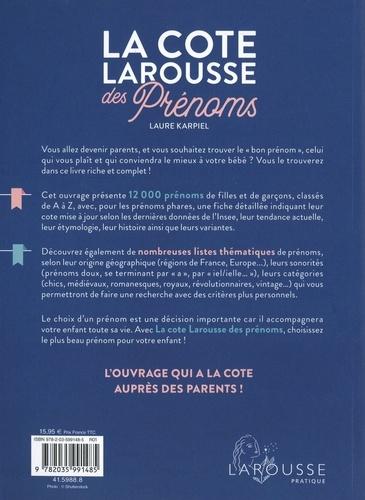 La cote Larousse des prénoms  Edition 2021