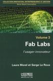Laure Morel et Serge Le Roux - Fab Labs - L'usager-innovateur.