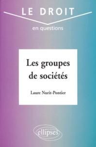 Laure Nurit-Pontier - Les groupes de sociétés.