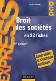 Laure Siné - Droit des sociétés en 23 fiches.