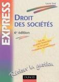 Laure Siné - Droit des sociétés.