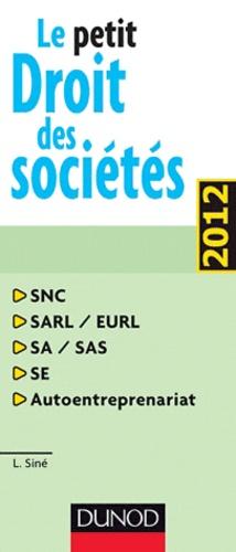 Laure Siné - Le petit Droit des sociétés.