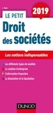 Laure Siné - Le petit droit des sociétés - Les notions indispensables.