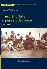 Téléchargement d'ebook gratuit sans inscription Immigrés d'Italie et paysans de France (1920-1944)