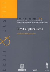 Lauréline Fontaine - Droit et pluralisme.