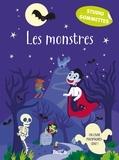 Lauren Ellis - Les monstresStudio gommettes : les monstres.