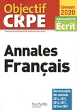 Laurence Allain-Le Forestier et Cécile Avezard-Roger - Annales Français - Admissibilité écrit.