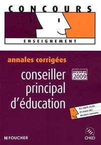 Laurence Azaïs et Sylvie Condette - Conseiller principal d'éducation - Annales corrigées concours interne et externe.