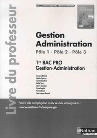 Gestion Administration Pôle 1, Pôle 2 1re partie, Pôle 3 1re Bac Pro Gestion-Administration - Livre du professeur.pdf