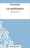 Laurence Binon et  Fichesdelecture.com - La modification - Analyse complète de l'oeuvre.