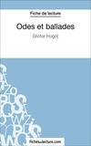 Laurence Binon et  Fichesdelecture.com - Odes et ballades - Analyse complète de l'oeuvre.
