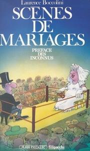 Laurence Boccolini et  Les Inconnus - Scènes de mariage.