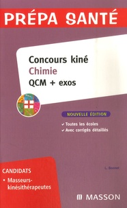 Concours kiné chimie- QCM + Exos - Laurence Bonnet-Marcot |