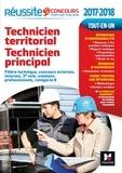 Laurence Bréus et Jérôme Labreveux - Réussite Concours Technicien territorial - Technicien principal Catégorie B  2017-2018 N°60.