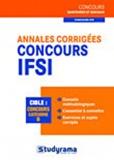Laurence Brunel et Caroline Binet - Annales corrigées concours IFSI.