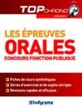 Laurence Brunel et Louise Desfonds - Les épreuves orales - Concours fonction publique catégorie C.