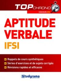 Laurence Brunel et Céline Wistuba - Tests d'aptitude verbale IFSI.