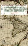 Laurence Burgorgue-Larsen et Amaya Ubeda de Torres - Les grandes décisions de la Cour interaméricaine des Droits de l'Homme.