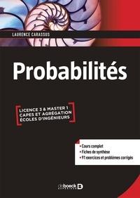 Probabilités - Laurence Carassus pdf epub