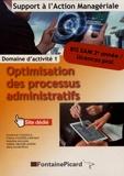 Laurence Casasola et Carine Courtès-Lapeyrat - Optimisation des processus administratifs BTS SAM 2e année / Licences professionnelles.