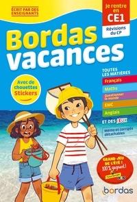 Laurence Chaafa et Sandrine Lamour - Bordas vacances - Je rentre en CE1 - Révisions du CP.