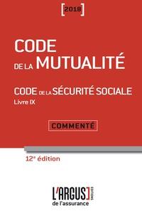 Histoiresdenlire.be Code de la mutualité - Code de la sécurité sociale Livre 9 - Commenté Image