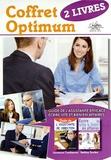 Laurence Combescot et Bettina Soulez - Coffret Optimum - 2 volumes : Guide de la secrétaire efficace ; Ecrire vite et bien en affaires.
